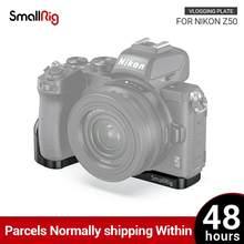 SmallRig – plaque de montage vlog pour Nikon Z50, Plate-forme de caméra avec support de chaussure froide pour Microphone ou lumière 2525