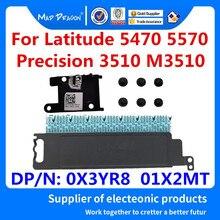 Novo original m.2 suporte quadro com parafusos de cobertura suporte para dell latitude e5470 5570 precisão 3510 0x3yr8 x3yr8 01x2mt 1x2mt