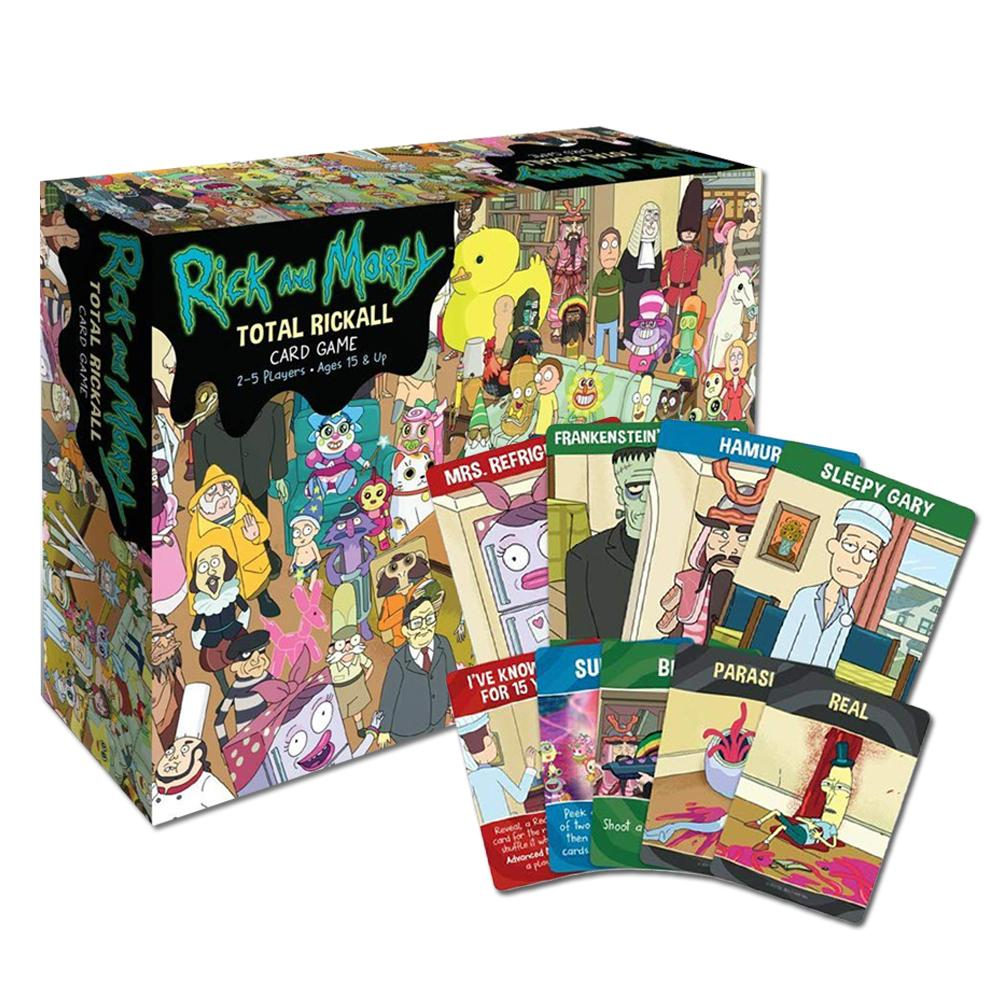 A Collection Of Collaborative Table Card Games For Teens And Adults For Rick And Morty Total Rickall