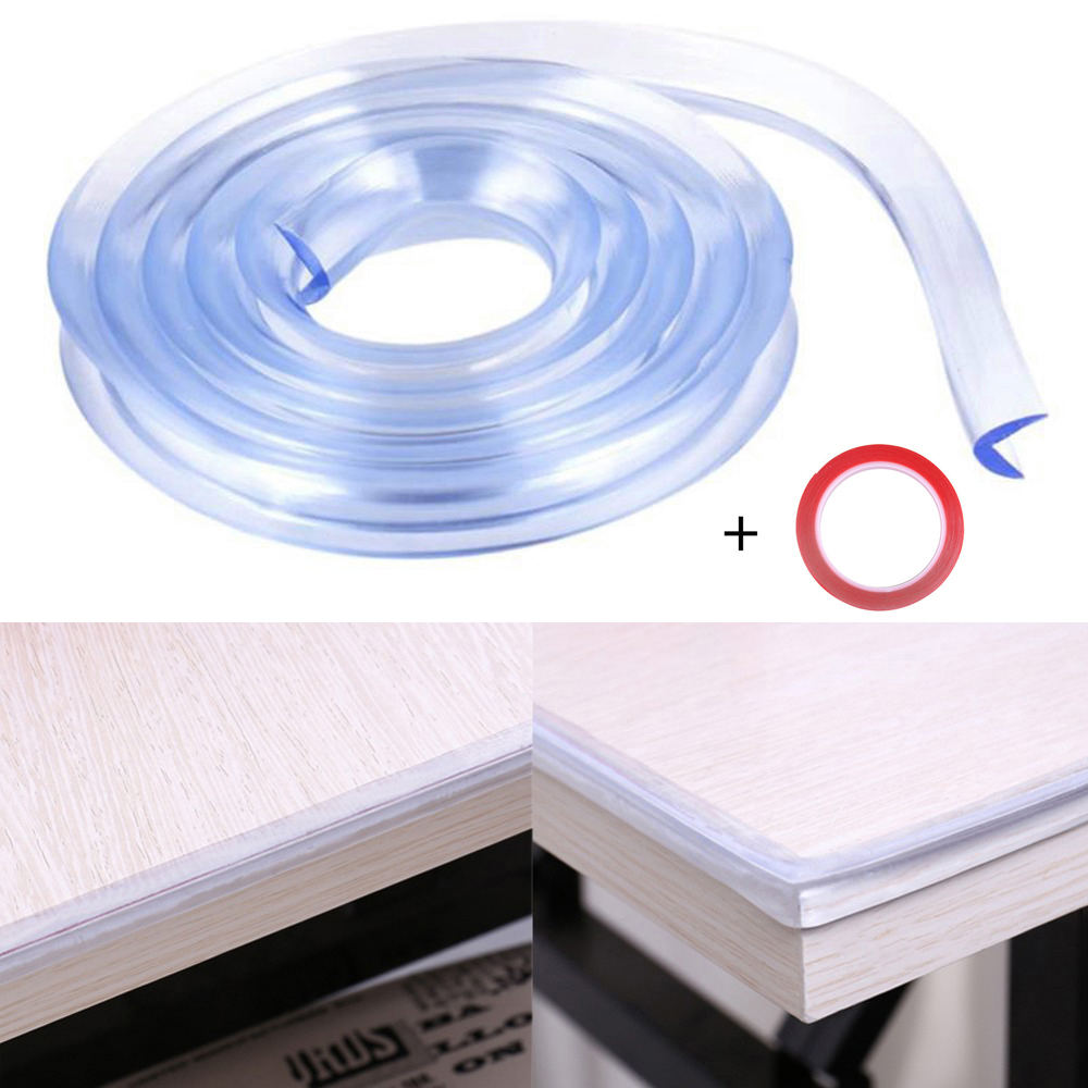 2 M Table Desk Edge Soft Protector Corner Cushion Baby Child Safety Foam Guard