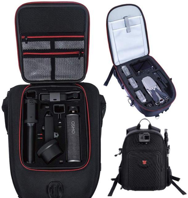 Smatree กระเป๋าเป้สะพายหลังสำหรับ DJI Mavic 2 Pro/ซูมรีโมทคอนโทรล DJI/สำหรับ DJI OSMO กระเป๋า EXTENSION rod
