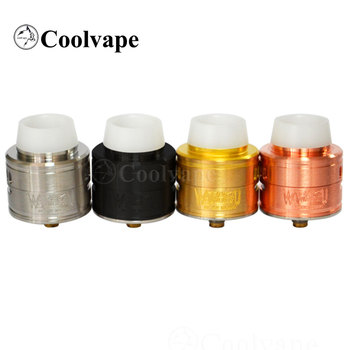 coolvape warhead 30mm rda 316 stainless steel Material Rebuildable Drops Adjustable  e-Cigarette Atomizer Tank