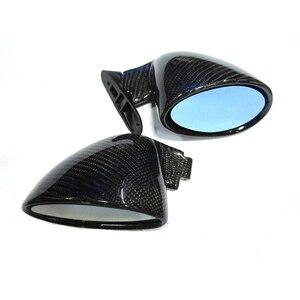 Image 3 - ユニバーサル F1 レース用カーボンファイバーサイドミラー BMW E90 E92 M3 F10 F30 E46 E60 1 ペア (R + L) オリジナルではない