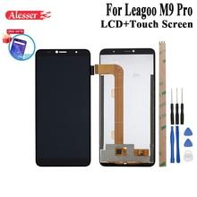 Alesser dla Leagoo M9 Pro wyświetlacz LCD i zestaw do naprawy ekranu dotykowego części z narzędziami + klej do telefonu Leagoo M9 Pro + Film