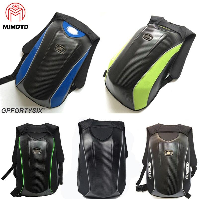 OGIO Mach 3-sac à dos en Fiber de carbone pour Motocross bm-w, sac de voyage pour course de Moto, coque rigide, pour casque, 2020