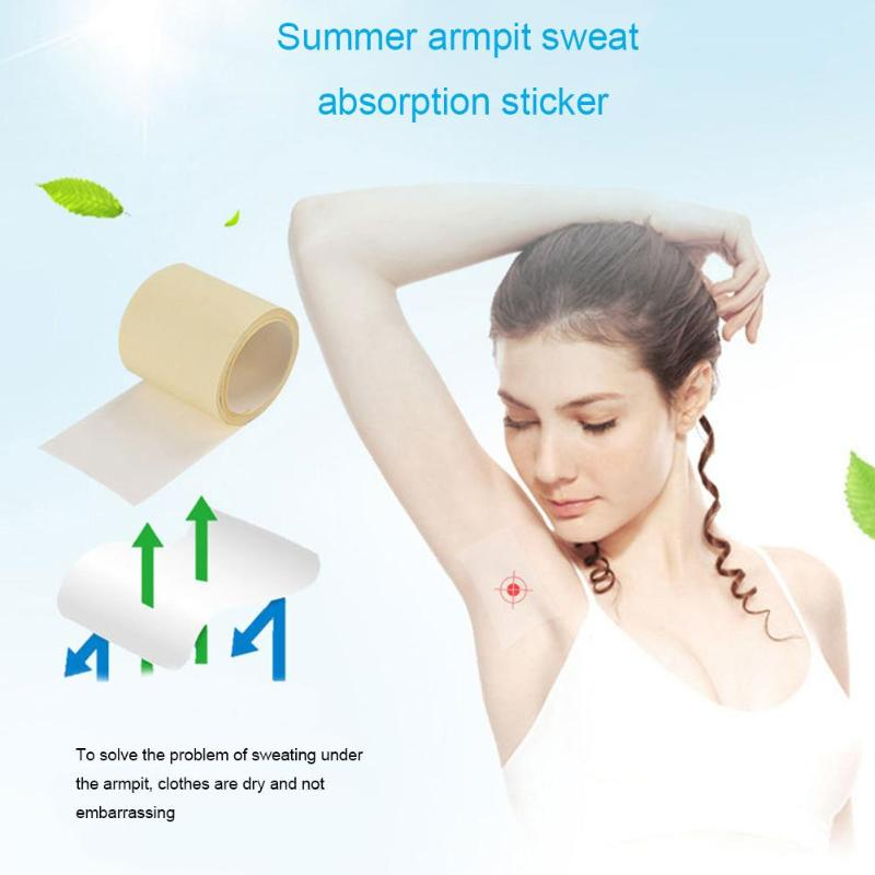 Deodorant Anti Perspire Sweat Pad Disposable Armpit Shield Polyurethane Propylene Adhesives Practical Care Keep Dry Sticker