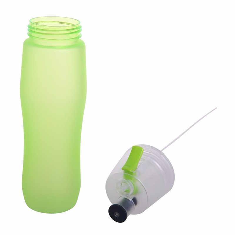 الإبداعية زجاجة لرش المياه الرياضة زجاجة بروتين شاكر الدراجات Gym شرب 700 مللي زجاحة ضغط المياه مضخة