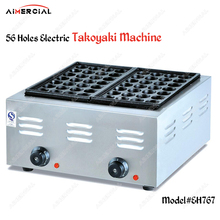 EH767/GH767/GH340 Electric/Gas Takoyaki grill pan Non-Stick Takoyaki maker machine S.steel Takoyaki plate Octopus ball machine цена и фото