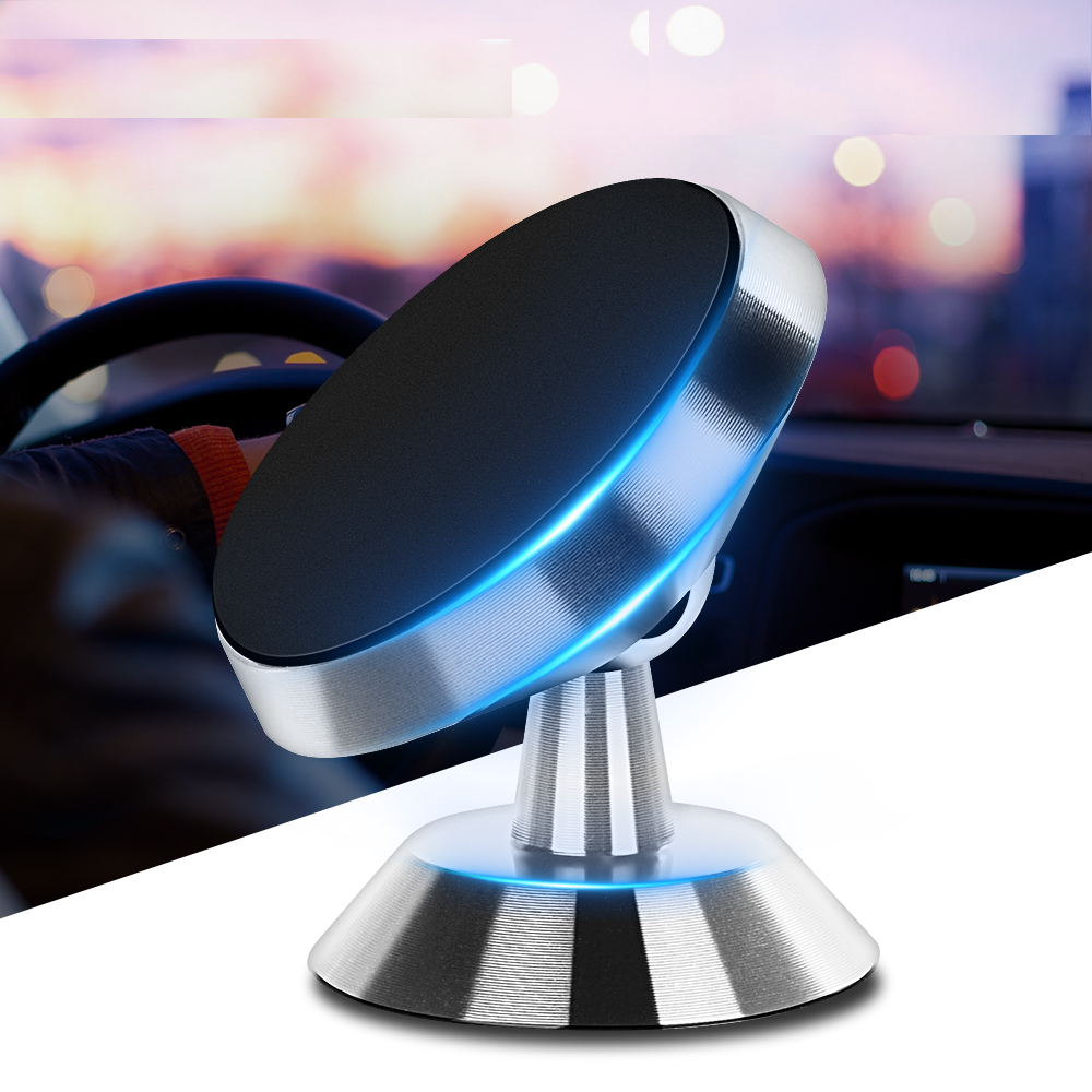 Cell Mobile Phone Support Dashboard GPS Universal Magnetic Phone Holder Stand In Car For IPhone Samsung Magnet Air Vent Mount