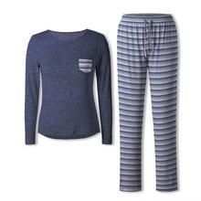 Neatie Kiddie Women Pajamas Set Home Lounge SetS Soft Clothes Long Sleeve Top Fu