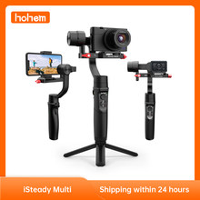 Hohem iSteady Multi Gimbal All-in-one 3-Axis Handheld Stabilizer for Sony Compact Camera RX100 Series/ Action Camera/ Smartphone