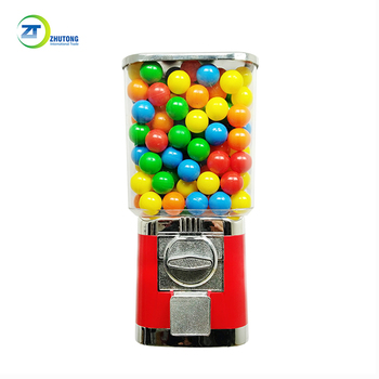Popular products Zhutong capsule toy rubber ball vending machine candy dispenser