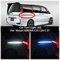 Lumière de virage de voiture | Phare de piste  lumière d'ambiance  lumière de porte 12V 6000K pour Nissan SERENA C25 C26 C 27