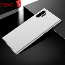 X-Level Clear Case For Samsung Galaxy Note 10 Plus Ultra Thin PP Phone Back Cover For Samsung Note 10 Transparent Case Note10 x level case for samsung galaxy note 10 original liquid silicone back phone cover for samsung note 10 plus case note10