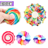 Color Spinner Fidget Toy Antistress hand Simpl Dimmer Relief Flying Finger Tip Gyro Adult Creative stress for childr Toys Gifts