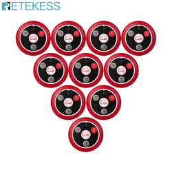 10pcs Retekess T117 Restaurant Pager Wireless Waiter Call System Call Button Customer Service For Factory Cafe Clinic Bar
