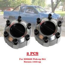 2 Stuk 40250 2S610 Voor Nissan Pickup Pathfinder Navara D21/D22 90 > Handmatige Vergrendeling Hubs 402502S610