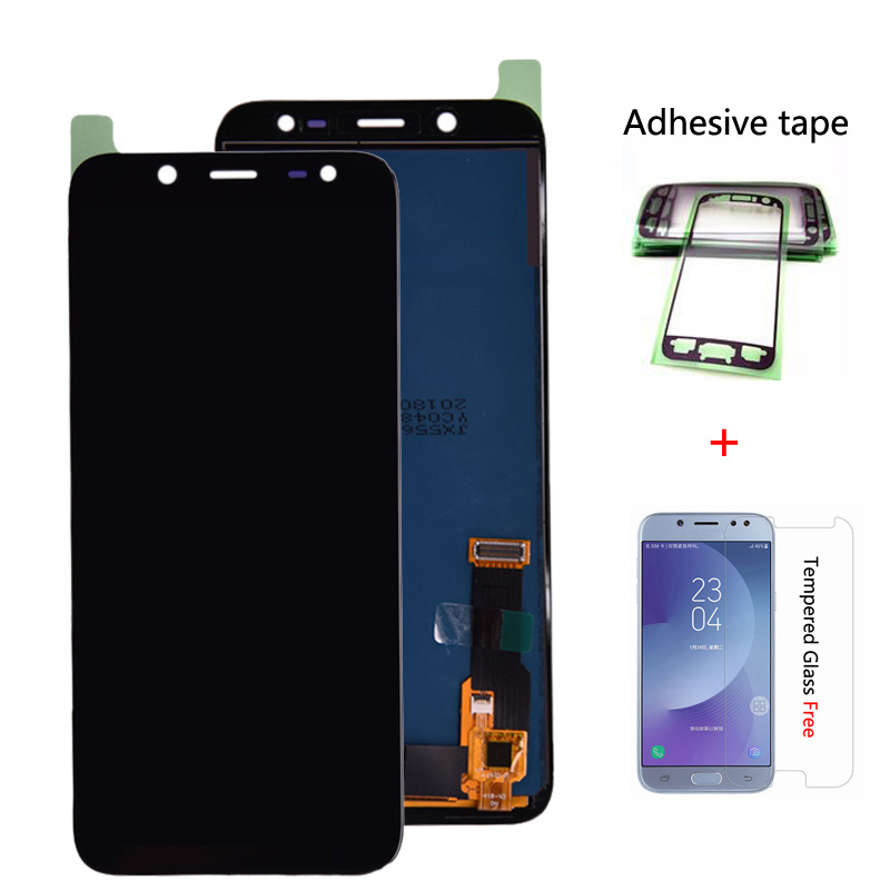 J600 LCD Screen For Samsung Galaxy J6 2018 J600 J600F J600G J600Y LCD Display Touch Screen Digitizer Assembly Free Shipping