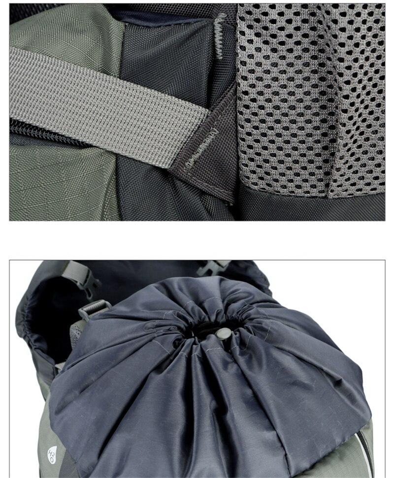 New 75L Large Capacity Climbing Backpack Sport Bag Waterproof Travel Rucksack Camping Hiking Trekking Backpack Molle Outdoor Bag