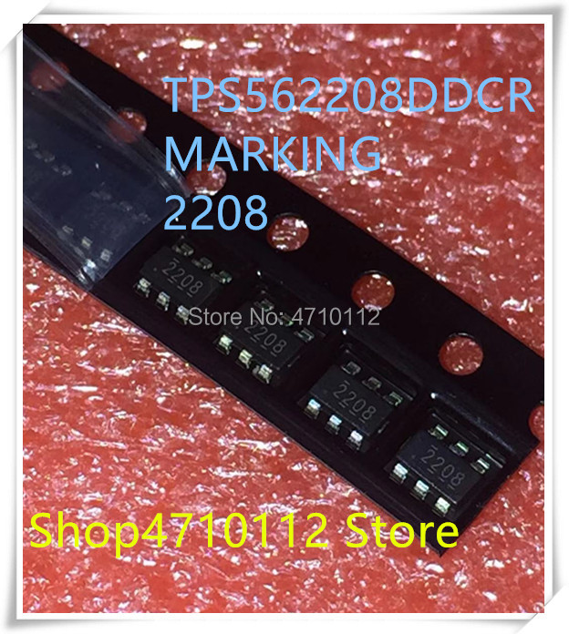 NEW 10PCS/LOT TPS562208DDCR TPS562208 MARKING 2208 SOT23-6 IC