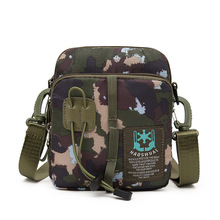 Outdoor Military Enthusiasts Mens Messenger Bag Camouflage Tactical Waist Pack Multi-function Shoulder Casual