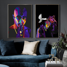 цены Hip Hop Pop Street Art Paintings on Canvas Wall Graffiti Art Posters And Prints Wall Pictures For Living Room Home Decor Cuadros
