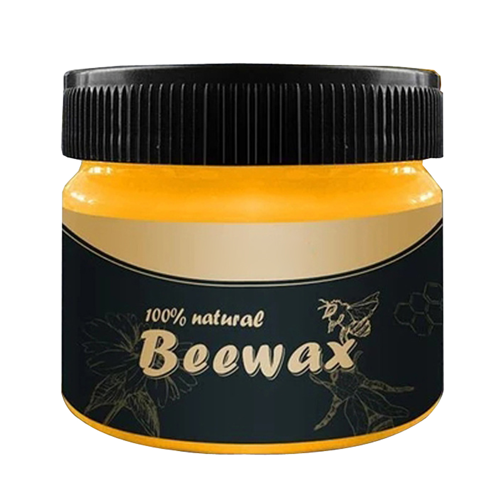 Furniture Care Polishing Beeswax Waterproof Wear-resistant Wax Furniture Care Wax For Wooden Tables Chairs Cabinets Doors E2S
