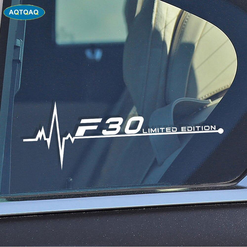 1 шт. для BMW F01 F02 F07 F10 F15 F16 F20 F25 F30 F31 F34 F45 F46 F48 F82 F85 F87 наклейки на окна автомобиля