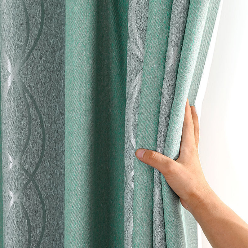 Popangel Modern blackout curtains for window DIY Design Style 2 colors Curtain for Living Room For Kitchen Bedroom Curtains