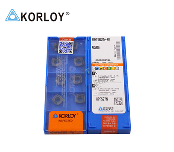 XOMT090305-PD PC5300 100% KORLOY Original carbide insert with the best quality 10pcs/lot free shipping