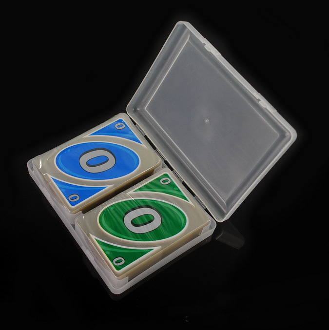 New Crystal Brand Waterproof And Pressure-proof Plastic PVC Playing Cards Board Game Card 108 Cards/set With A Box