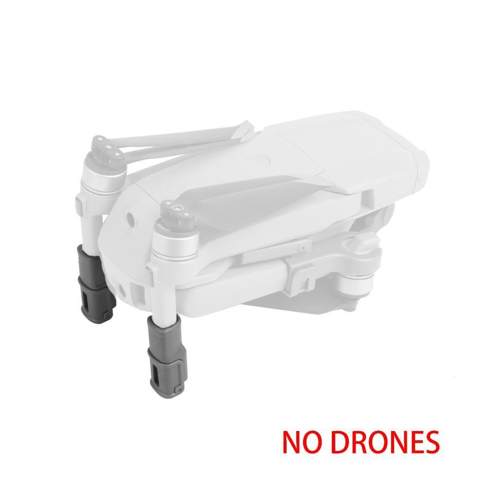 1Set Grey Foldable Support Leg Heightening Landing Gears Protectors for DJI Mavic Air 2 Drone Accessories  UAV heightening
