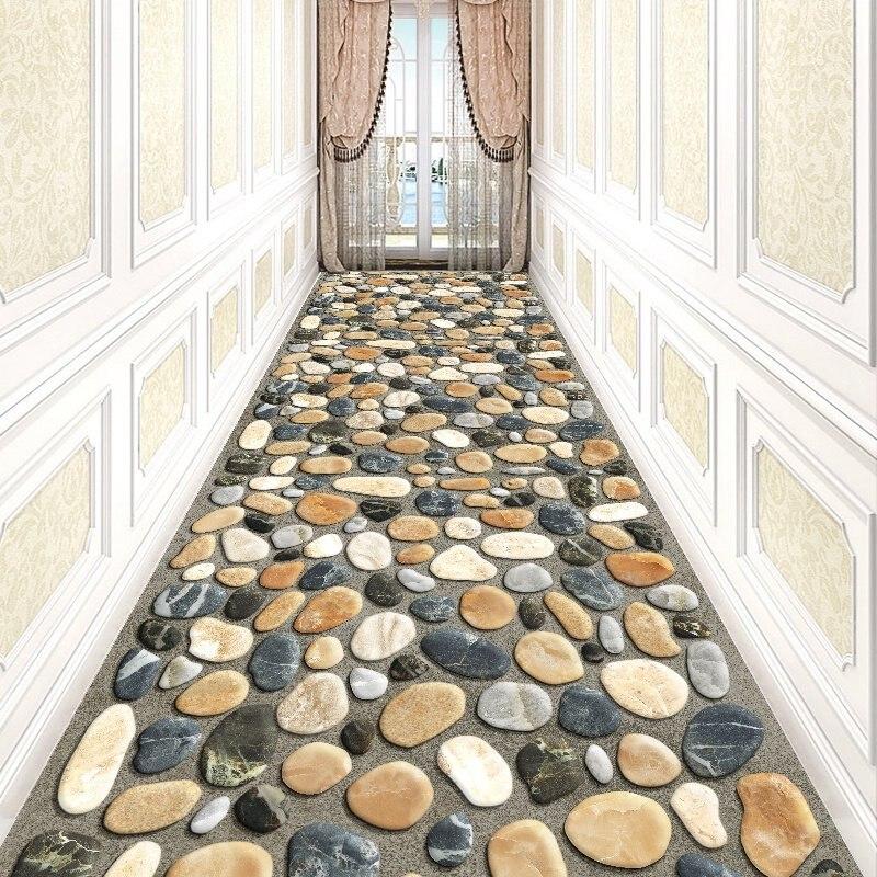 Длинный ковер в коридор гостиная домашний лестничный ковер крыло отеля ковры декоративные ковер при входе/коврик для прихожей детская комната Спальня Ковер - Цвет: Z52