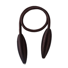 1Pc Curtain Tiebacks Plush Hanging Belts Ropes Curtain Holdback Buckles Clasp Clips Curtain Accessories Hook Holder Decor