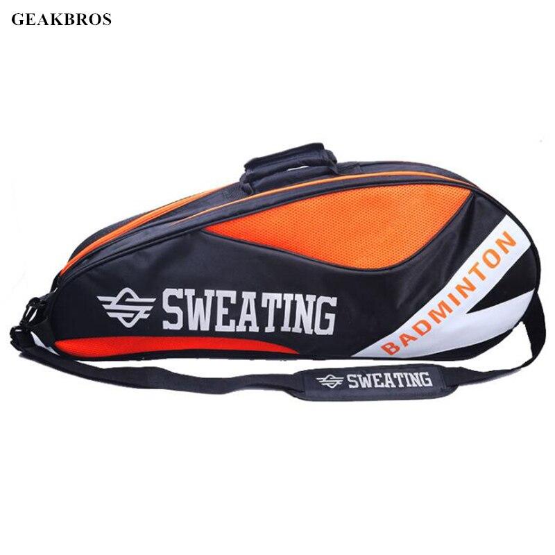 6-12 Pcs Racket Tennis Bag Badminton Bag Backpack Sack Tennis Raqueta Bag Waterproof  Sport Tennis Racket Cover Shoes Storage