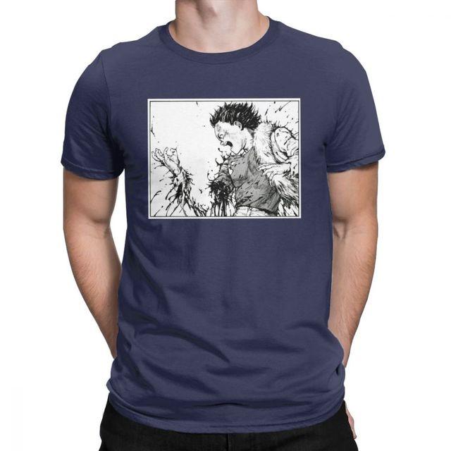 Men S Akira Tetsuo Losing Arm Tshirt Manga Kaneda Japanese Anime Neo Tokyo 100 Percent Cotton Wholesale Tshirt T Shirts Aliexpress