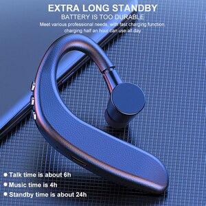 Image 2 - Y10 Tws Bluetooth 5.0 Draadloze Koptelefoon Stereo Oorhaak Sport Hoofdtelefoon Business Rijden Handsfree Met Microfoon Headset