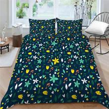 Комплект постельного белья с цветочным рисунком креативное трехмерное