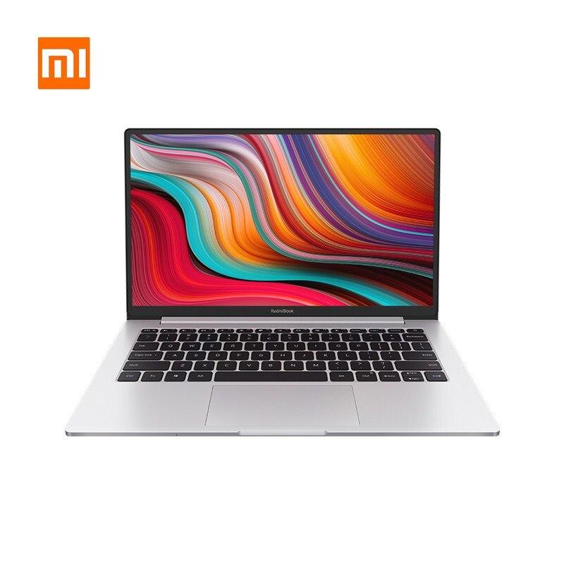 Ноутбук Xiaomi RedmiBook 13,3 дюймов Intel Core i7-10510U NVIDIA GeForce MX250 GPU 8 Гб ram DDR4 512 ГБ SSD 89% полный дисплей