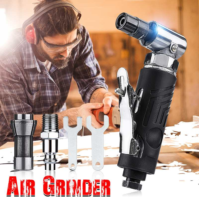 Portable Air Compressor Pneumatic Micro Air Die Grinder Tools Great Grinding Gas Polishing Machine 2 Inch Angle Sander
