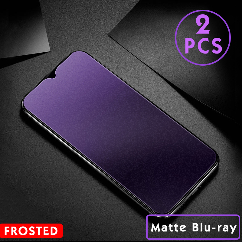 2Pcs/lot Matte Screen Protector Tempered Glass For Xiaomi Redmi note 8 pro note 9 4