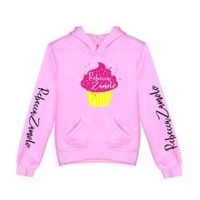 Kids Hoodies Rebecca Zamolo Clothes Streetwear Harajuku Pullover Merch Girls for Boys