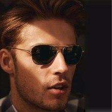 Classic 3136 CARAVAN Style Polarized Square Aviation Sunglasses Men