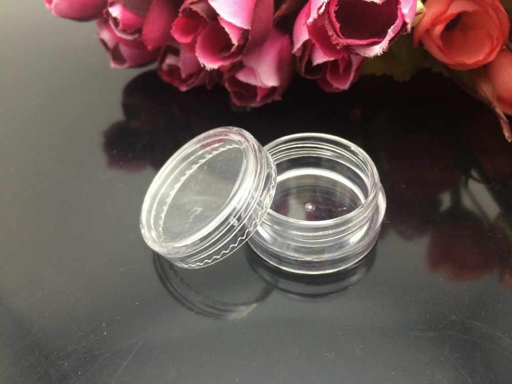 1 шт. горячая Распродажа прозрачный белый мини пластиковый косметический пустой