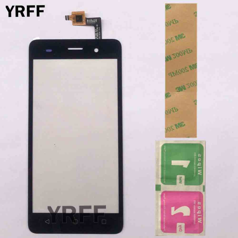 Touch Screen Digitizer For BQ BQS-5020 BQS 5020 Strike Touchscreen Panel Front Glass Lens Sensor Replacement Tape Wipes