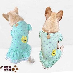 Ropa para mascotas, vestidos para perros, faldas creativas elegantes, sudaderas lavables transpirables, ropa para perros, camisa Cosiness Primavera Verano