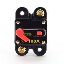 Interrupteur étanche pour disjoncteur 100/150/200A manuel, connecteur isolateur de batterie, pour voiture, SUV, bateau, 12V