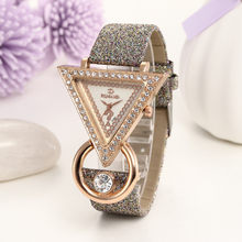 Fashion Casual Bracelet Watch Women High-end Blue Glass Life Distinguished Quartz Watch Clock Female M(China)