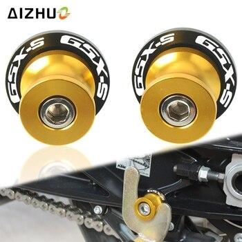 Stand Screws FOR SUZUKI GSX1300R HAYABUSA GSX-S1000 GSX-S750 2020 2019 Motorcycle CNC Accessories Spools Slider Swingarm Screw motorcycle accessories cnc aluminum m8 swingarm spools slider stand screw for suzuki gsr 750 600 400 gsr400 gsr600 gsr750 8mm