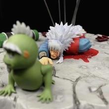 Neue Anime Naruto Shippuden Den Tod Von Jiraiya Gama Sennin Ero sennin GK Statue PVC Action Figure Modell Sammeln spielzeug Puppe